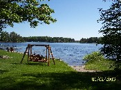 wisconsin northwoods area rental cottage on recreational & fishing lake